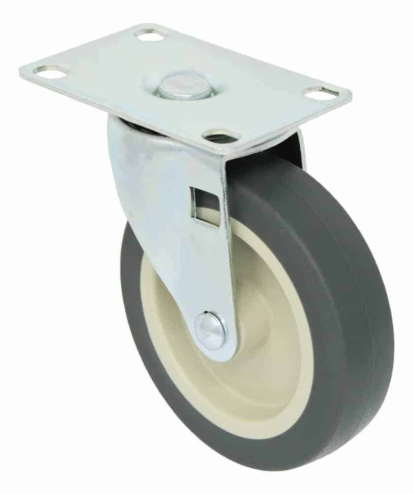 3″ Swivel Polyurethane Top Plate 2-3/8 x 3-5/8