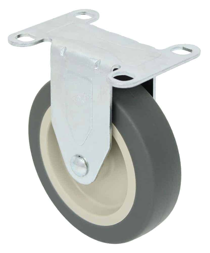 4″ Rigid Non Marking Top Plate 2-3/8″ x 3-5/8″