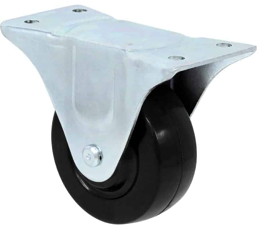 3″ Rigid Hard Rubber Top Plate 2-1/4 x 5-1/8