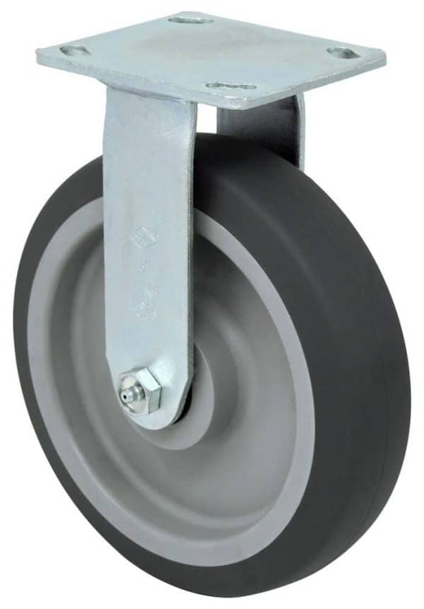 """Rigid Non Marking Caster with 4"""" x 4-1/2"""" Top Plate"""