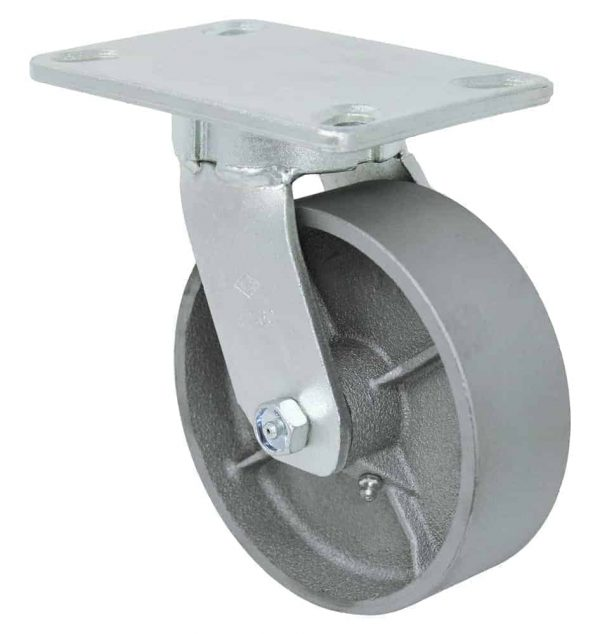 Swivel Kingpinless Steel Caster