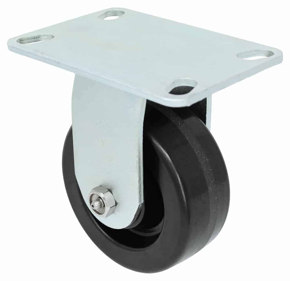Rigid Phenolic Caster 4-1/2 x 6-1/4 Top Plate