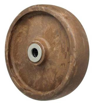 8″  High Temp Glass Filled Nylon  Wheel With 3/4″ Plain Bore 1200 Lbs Capacity