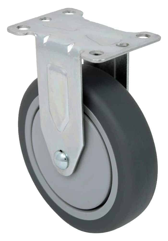 3″ Rigid Non Marking Top Plate 2-3/8″ x 3-5/8″