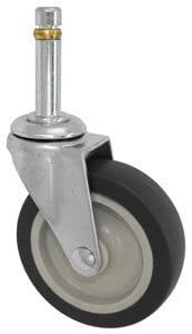 3″ Non Marking With Brake 7/16 Grip Ring Stem