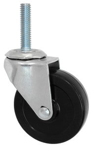 "3/8"" Threaded Stem Caster With Brake"