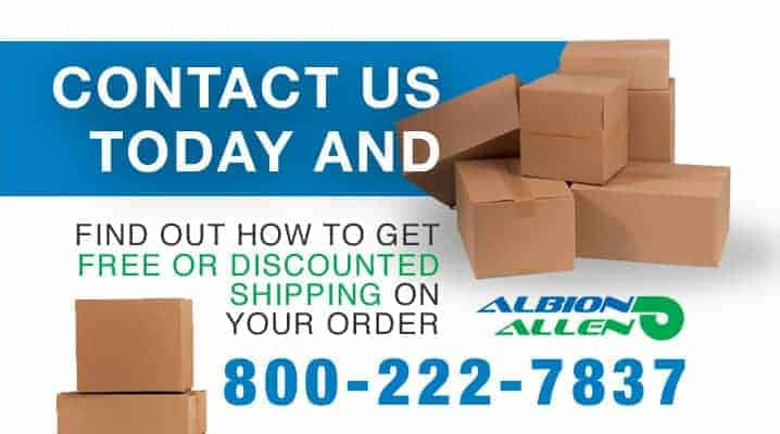 Give Us a Call at Albion Allen